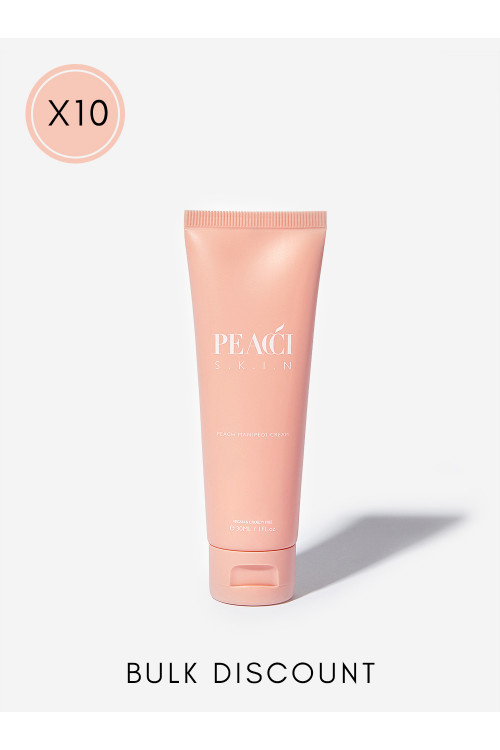 10x Peach ManiPedi Cream
